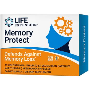 商品Memory Protect - 12 C-Li Capsules & 24 Li Capsules, Lithium & Colostrinin-Lithium图片