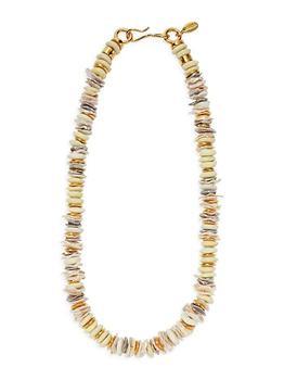 商品Multi-Stone 18K Goldplated Iliad Necklace图片