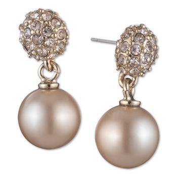 商品纪梵希珍珠耳环Givenchy Pearl Fireball Drop Earrings图片