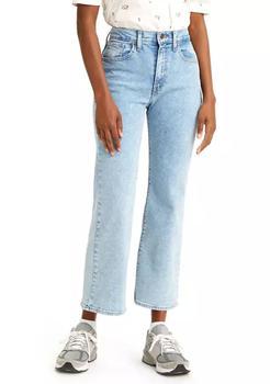 商品High Waisted Cropped Flare Jeans图片