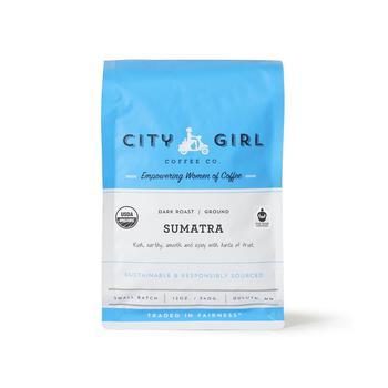 商品Organic Sumatra Ground Coffee, 12 oz图片