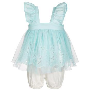 商品Baby Girls 2-Pc. Tunic & Bloomer Set, Created for Macy's图片