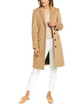 商品Burberry Tailored Wool & Cashmere-Blend Coat图片