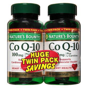商品辅酶Q10 CoQ10 100 mg 两瓶装图片