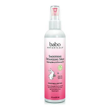 商品Babo Botanicals Smoothing Detangling Spray With Berry And Primrose Oil, 8 Oz图片