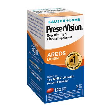 商品Eye Vitamin and Mineral Supplement Soft Gels图片