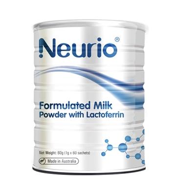 商品Neurio纽瑞优乳铁蛋白粉免疫力球乳清儿童婴儿婴幼儿宝宝提高增强1g*60包图片