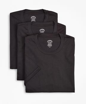 商品匹马棉圆领打底衫-3件装图片