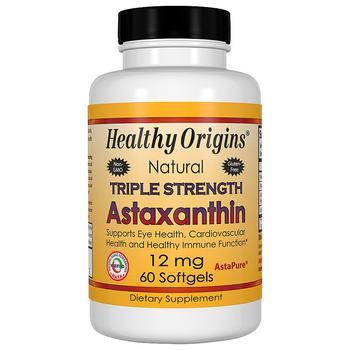 商品Astaxanthin 12mg Triple Strength, Softgels图片