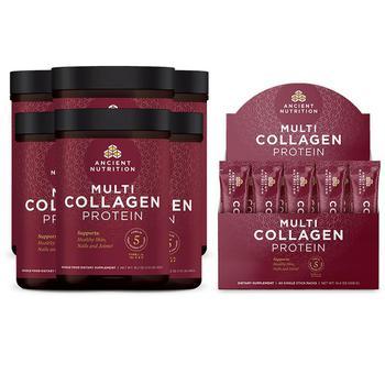 商品Multi Collagen Protein 6-Pack + 40 Stick Pack Box图片