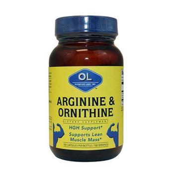 商品Olympian Labs Arginine And Ornithine Capsules - 100 Ea图片