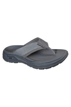商品Skechers Mens Arch Fit Motley Dolano Sandals (Charcoal)图片