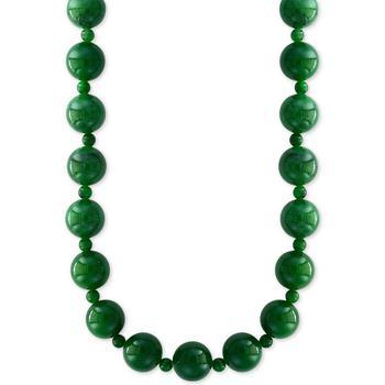 """商品EFFY® Jade (4 & 10mm) Bead 20"""" Statement Necklace图片"""