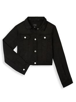 商品Girl's Shrunken Denim Jacket图片