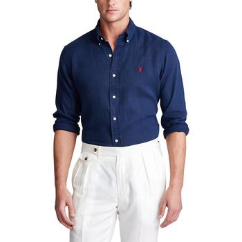 商品Men's Classic Fit Linen Shirt图片