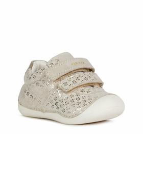 商品Geox Sequin Leather Sneaker图片