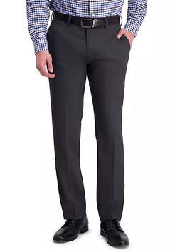 商品Sharkskin Slim Fit Flat Front Dress Pants图片