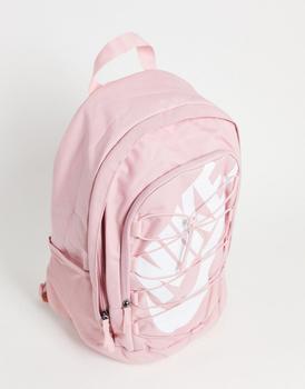 商品Nike Hayward backpack in pink with drawcord detail图片
