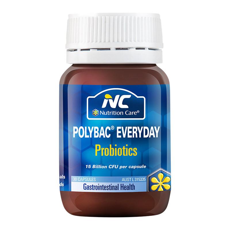 商品澳洲 Nutrition Care 活益多益生菌 调理肠胃30粒/瓶图片