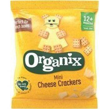 商品Organix Mini CheeseCrckr Singl 20g图片