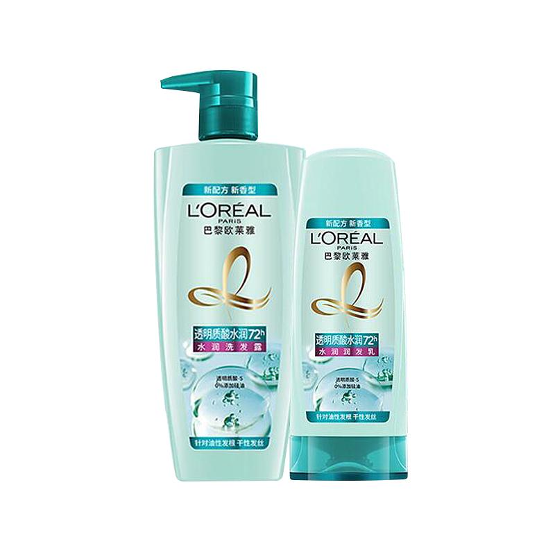商品欧莱雅透明质酸洗发水护发组合图片