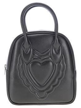商品Comme des Garçons Girl Heart Embossed Tote Bag - Only One Size / Black图片