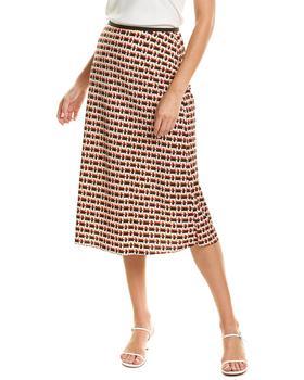 商品Diane Von Furstenberg Mae Silk-Blend Skirt图片