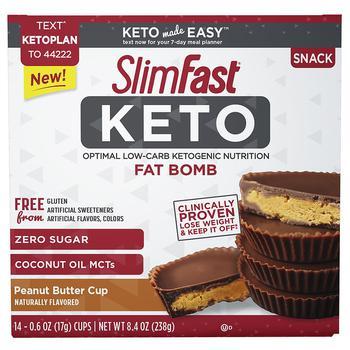 商品SlimFast Keto 花生酱点心图片