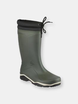 商品Dunlop Blizzard Unisex Mens/Womens Winter Wellington Boot / Rain Boots (GREEN)图片