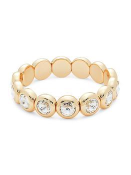 商品Boogie Goldplated & Swarovski Crystal Bracelet图片