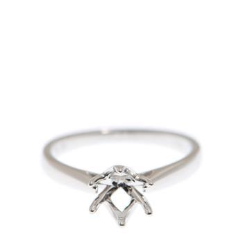 商品New J Collection Fine Jewellery Ring 18kw 2.65gm (1ct) (eu52) 18kt White Gold Silver图片