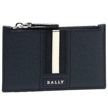 商品Bally Enley Striped Zipped Coin Pouch图片