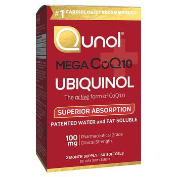 商品Qunol 还原型活性辅酶Q10 100mg 备孕/心脏图片