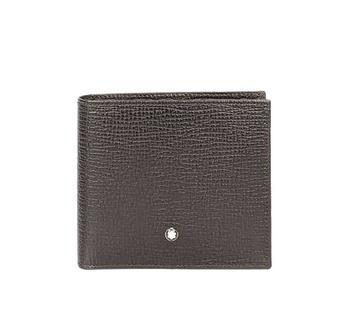 商品Montblanc Meisterstuck Soft Grain Leather 4cc Coin Wallet图片