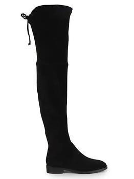 商品女式 Jocey系列 过膝靴 系带长靴 麂皮图片