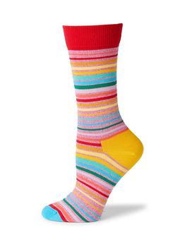 商品Pride Sunrise Striped Crew Socks图片