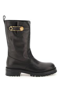 商品Medusa Safety Pin Boots - IT36 / Black图片