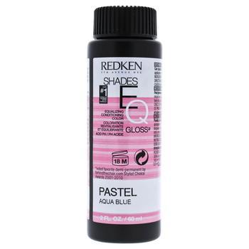 商品Shades EQ Color Gloss - Pastel Aqua Blue by Redken for Unisex - 2 oz Hair Color图片