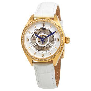 商品Invicta Objet D Art Automatic Crystal White Dial Ladies Watch 26352图片
