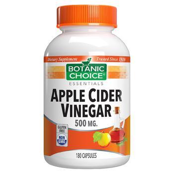 商品Apple Cider Vinegar 500 mg Capsules图片
