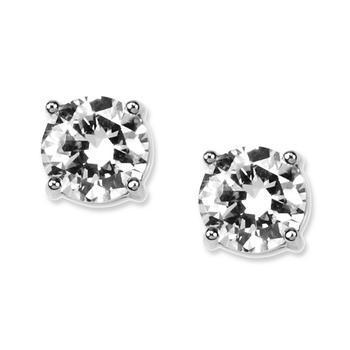 商品纪梵希水晶耳钉 Givenchy Earrings, Round Crystal Stud图片