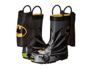 商品蝙蝠侠男童雨靴 Batman Everlasting Rain Boot (Toddler/Little Kid/Big Kid)图片