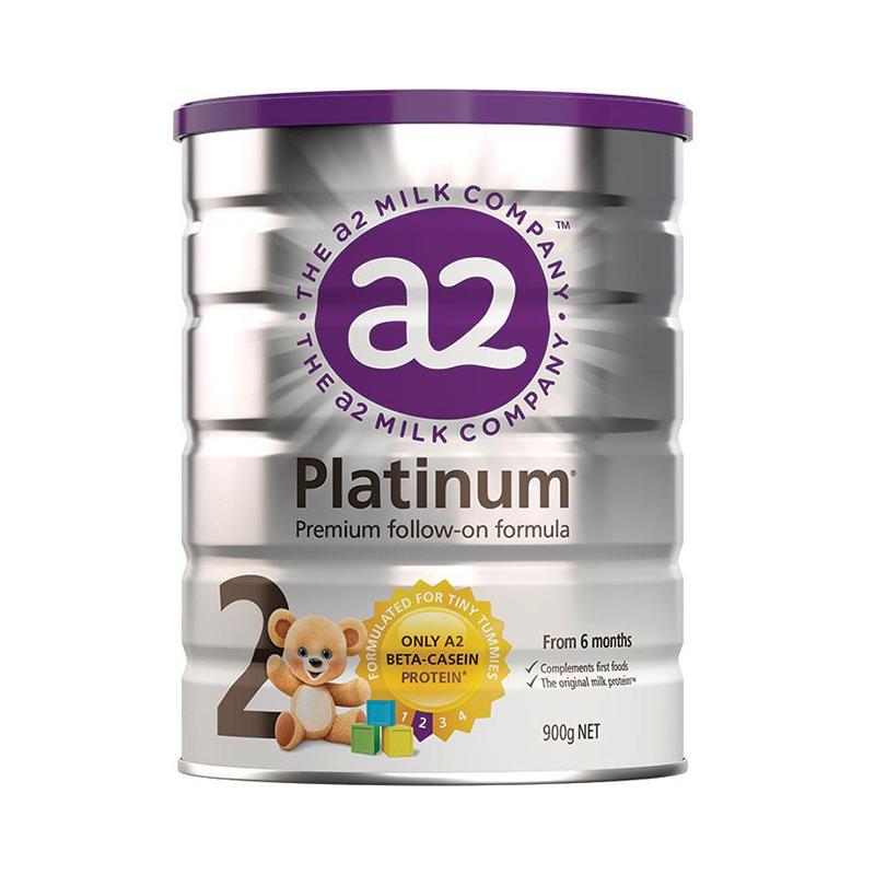 商品新西兰A2 婴幼儿奶粉 2段 6-12个月 900g(澳洲直邮发货)图片