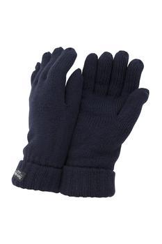 商品FLOSO Ladies/Womens Thermal Knitted Gloves (3M 40g) (Navy) ONE SIZE ONLY图片