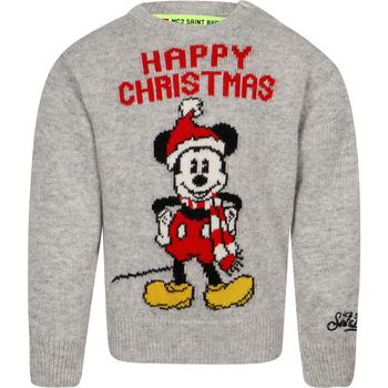 商品MC2 SAINT BARTH KIDS - Sweater, Grey, Girl, 6 yrs图片
