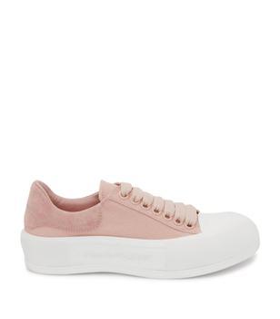 商品Deck Plimsoll Lace-Up Sneakers图片