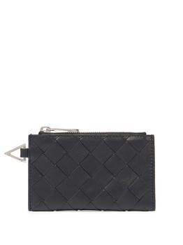 商品Intrecciato leather coin purse图片