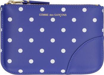 商品Comme des Garçons Wallet Polka-Dot Coin Pouch - Only One Size / Navy图片