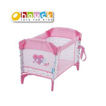商品Love Heart Doll Play Yard Baby Doll Accessory - Folds for Easy Storage and Travel图片