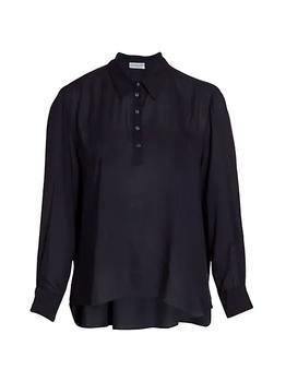商品Anais Long-Sleeve Polo Shirt图片
